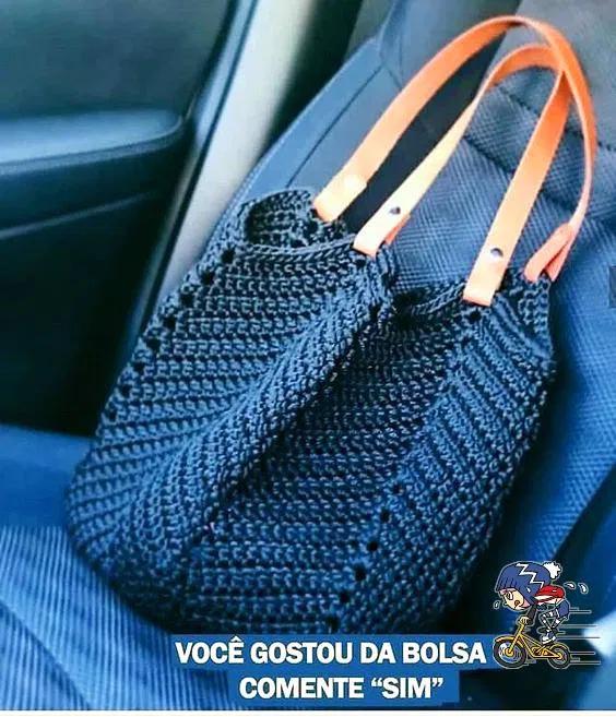 une idée de sac au crochet pour l'été – La Grenouille Tricote