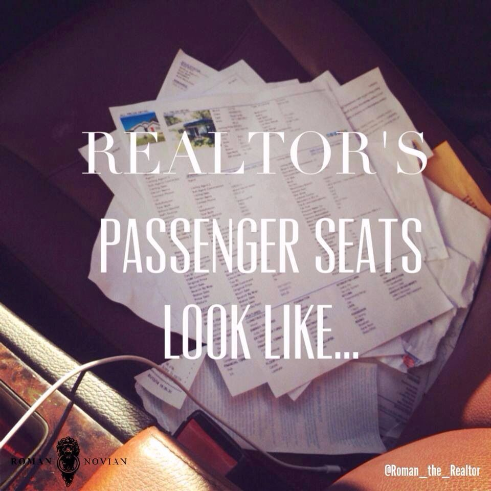 10 Signs That You Might Be A Real Estate Agent Real Estate Humor
