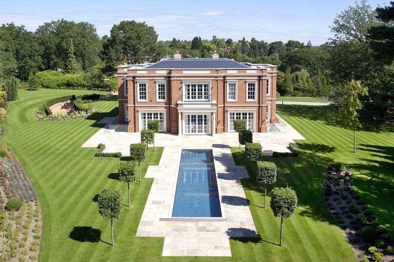 Exquisite Crossacres Mansion In Surrey, England