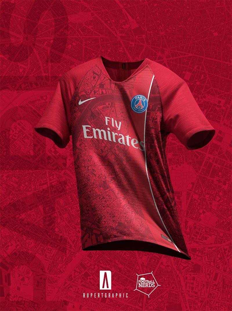 a007710d 4 Unique Paris Saint-Germain 2019 Concept Kits By Rupertgraphic - Footy  Headlines