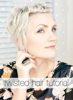 Twisted Hair Tutorial
