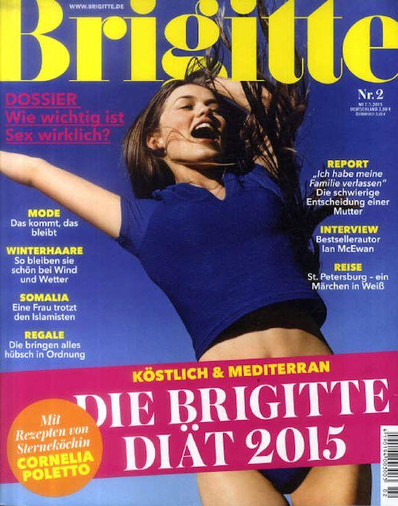 Die Neue Brigitte Am 15 Januar 2015 Aktuelle Zeitschriftencover