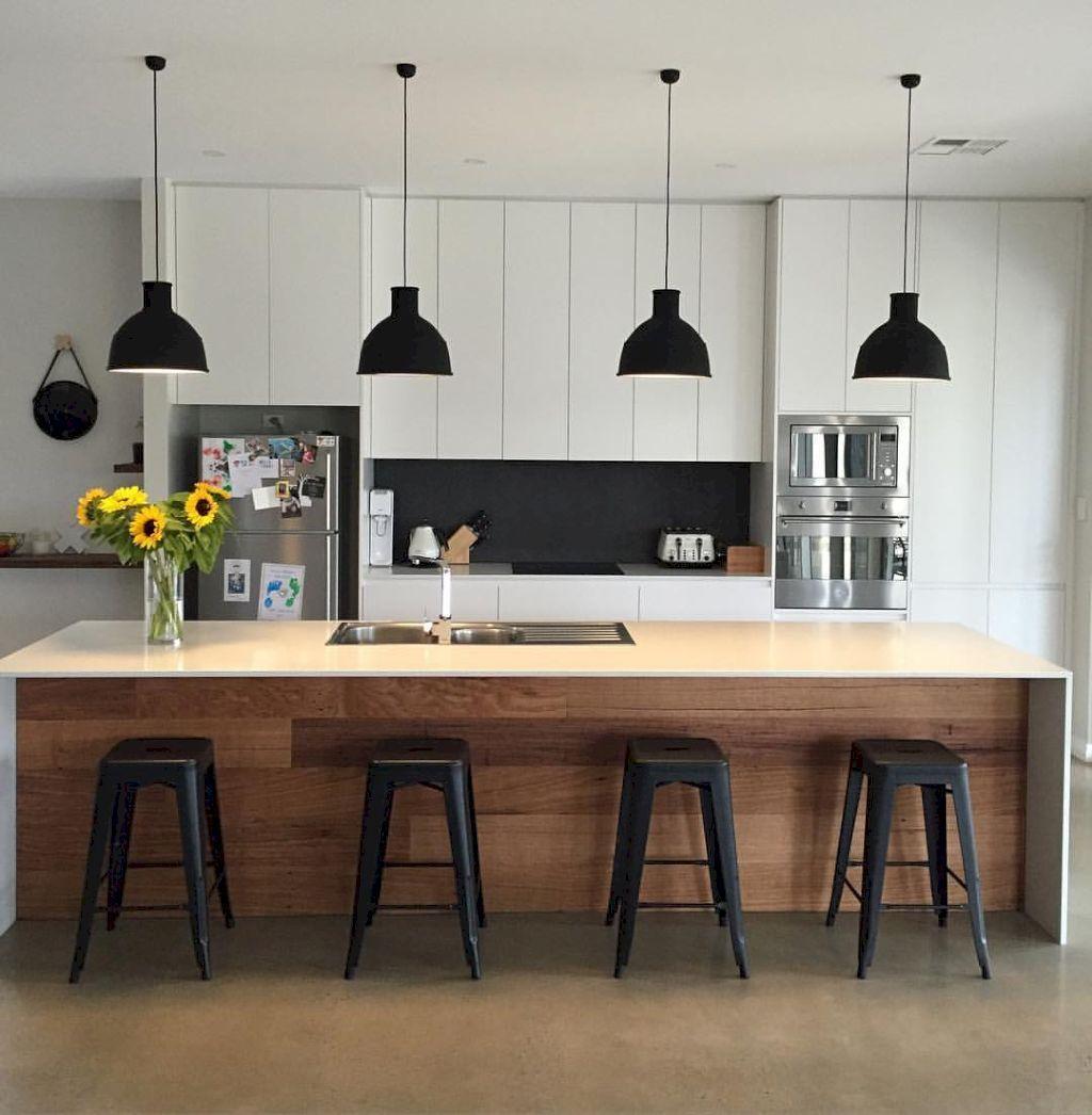 45 Modern Kitchen Cabinetry Decor Ideas | House Ideas | Pinterest
