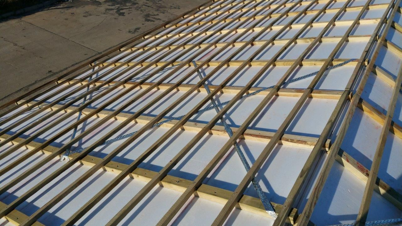 Roof Liner Building Insulation Ceiling Installation Rafter