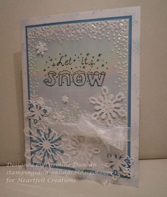 Heartfelt Creations | Let it Snow