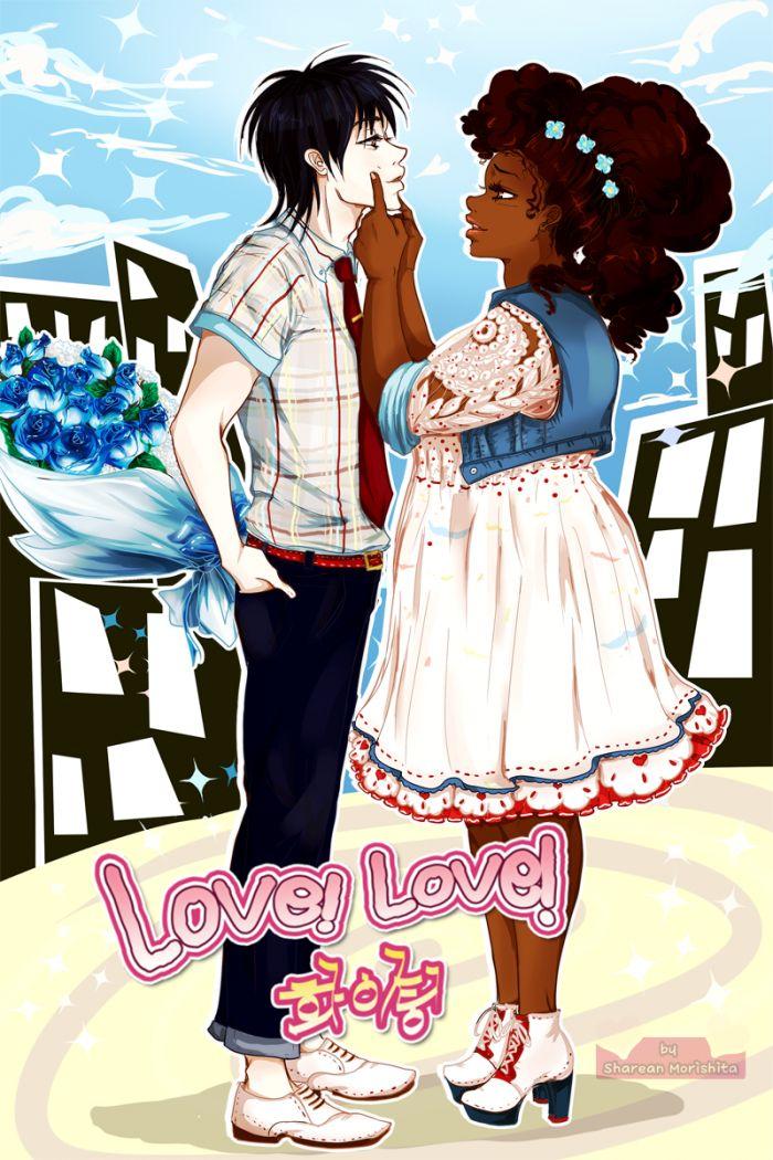 Love This Comic Web Series Interracial Art Black Girl Art Black Women Art