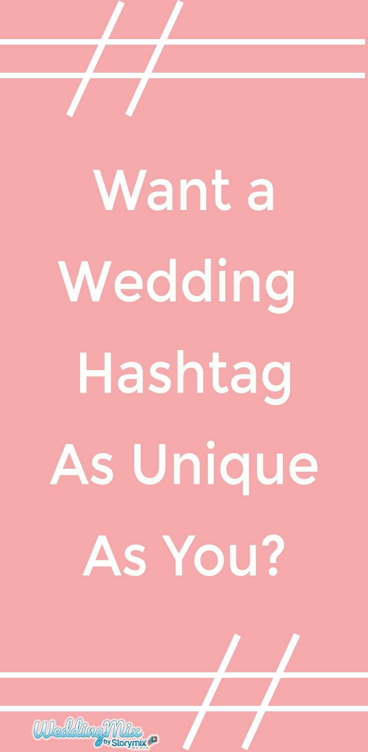 Wedding Hashtag Generator Puns.The Fun And Modern Way To Create Your Wedding Video Dream