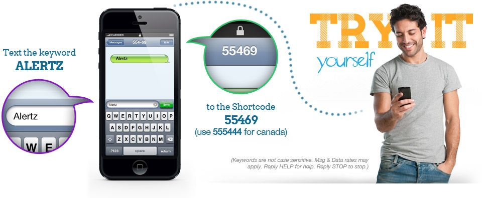 Try Text Messaging.....see how it works! Sms marketing