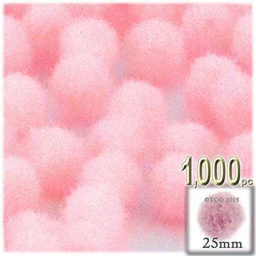 The Crafts Outlet 1,000-Piece Multi Purpose Pom Poms