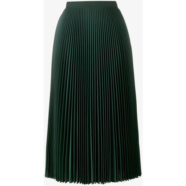 Prada pleated mid-length skirt Big Discount Online K3n61WY