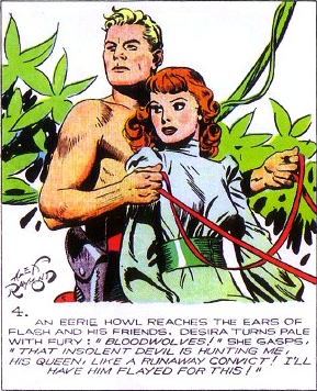Comic Strip Baby Name: Desira   Comics, Flash gordon ...
