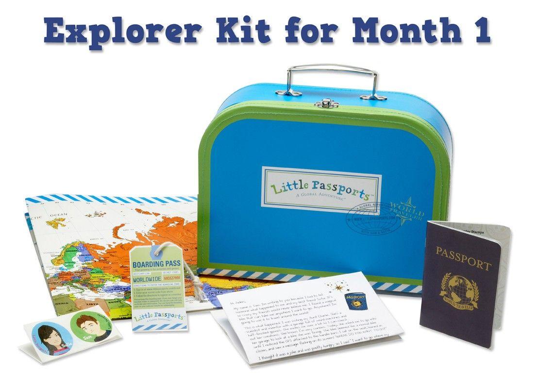 Little Passports explorer kit // Kit de Explorador del ...