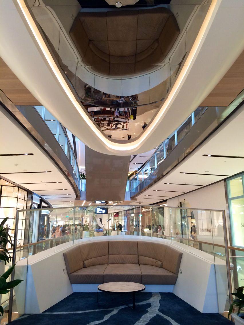 Seating pods Westfield Miranda, Australia Retail