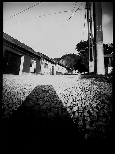 A Pinhole Photo I Took In Small Village Romania Thanks To Claire For