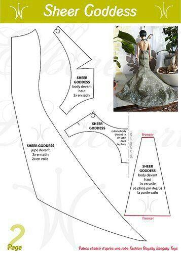Pin von Elsa Welgemoed auf Barbie gowns | Pinterest