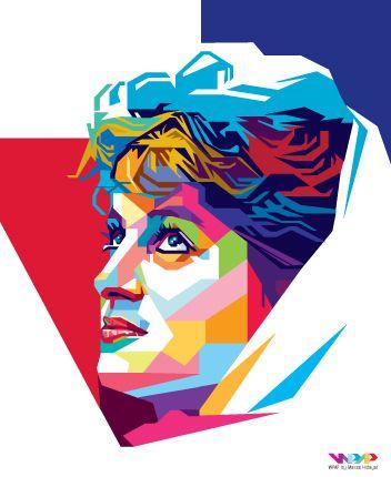 Lady Diana Celebrity Art Portraits Pop Art Portraits Princess Diana