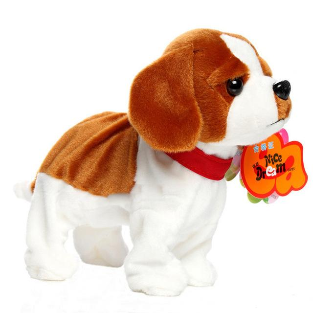Toy Dog Bark Stand Walk Electronic Pet Dogs Kids Pet Toys