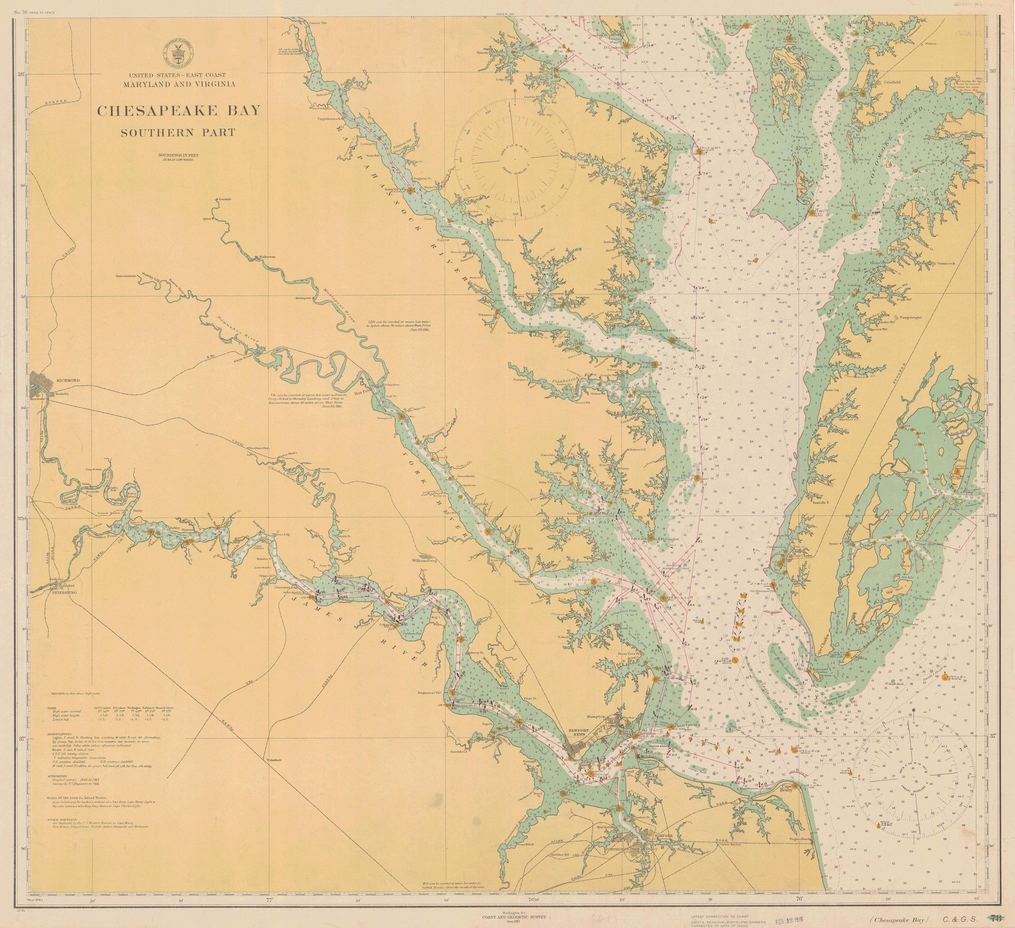 Chesapeake Bay Southern Part Historical Map Chesapeake - Us map chesapeake bay