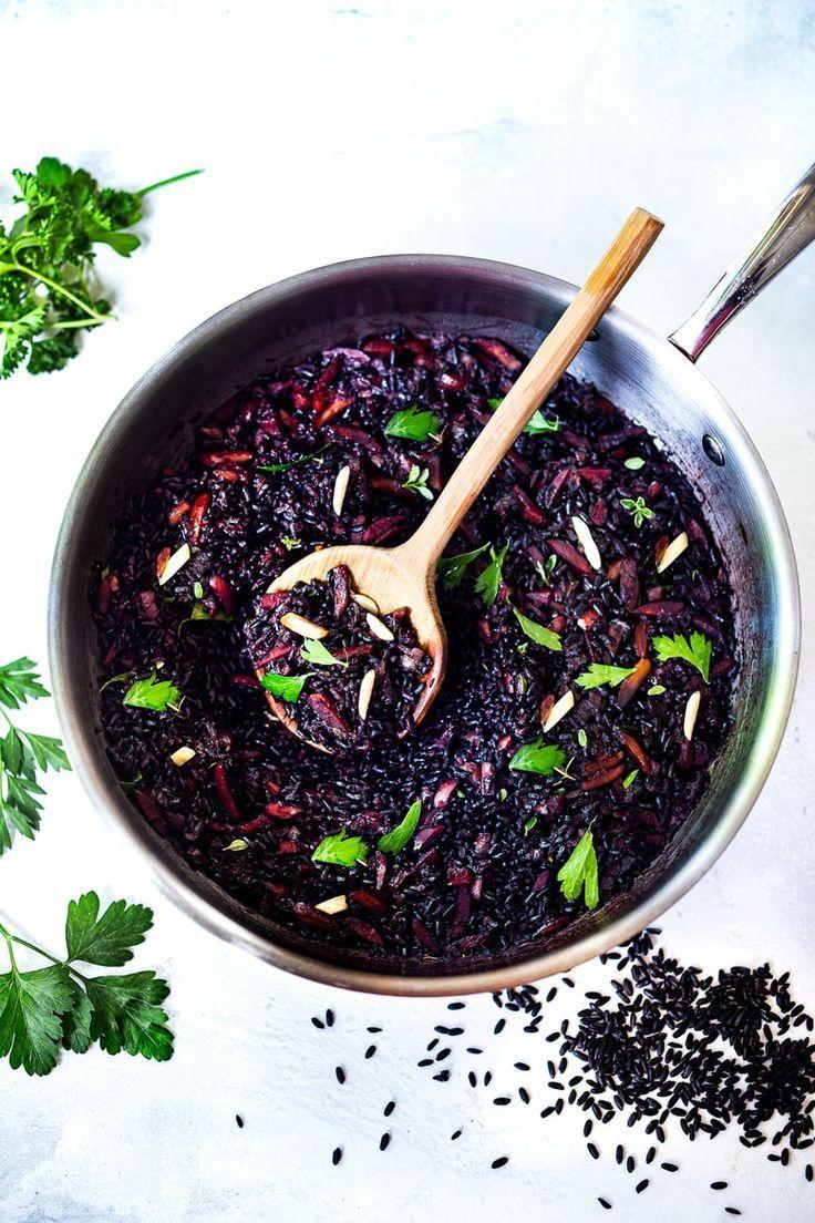 Forbidden black rice recipes recipe forbidden black