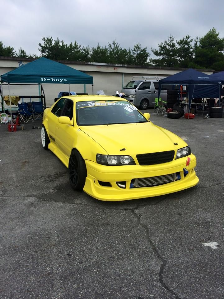 Love a yellow JZX | Japan cars, Weird cars, Jdm cars