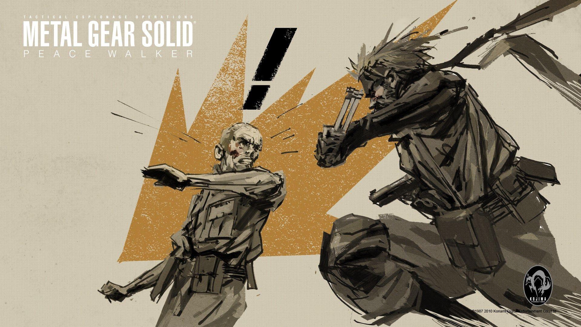 Windows Wallpaper Metal Gear Solid Peace Walker 1920x1080 581 Kb Metal Gear Metal Gear Solid Gear Art