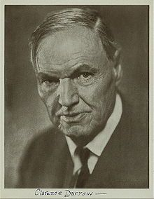 Lawyer Clarence Darrow, one of the most famous American lawyers