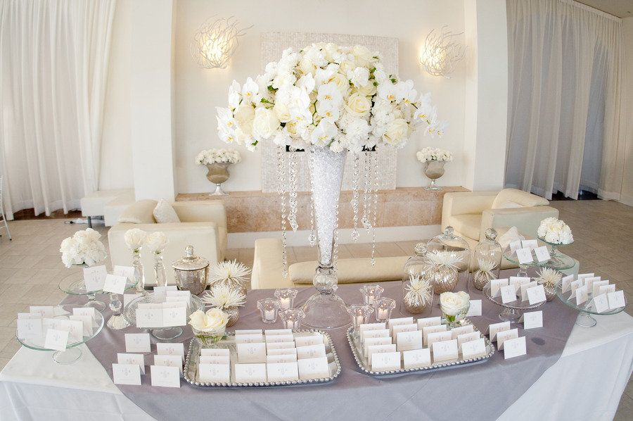 Stunning Escort Card Table. Flowers By Villageartsandflowers.com/,  Photography By Snapri.