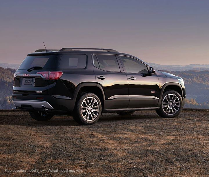 Gmc Acadia All Terrain >> Venture Off The Beaten Path In Style In The All New 2017