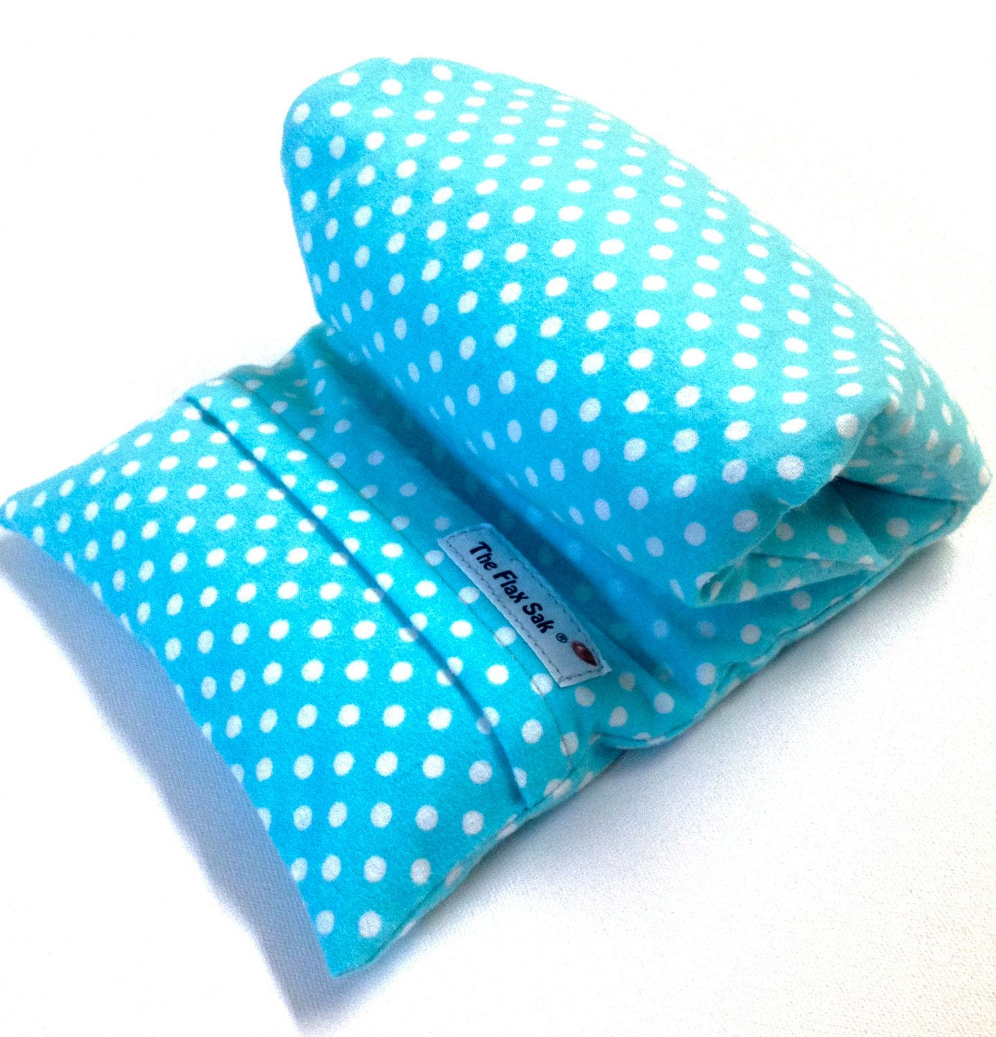 Joint Pain Injuries Microwavable Flax Seed Lavender Heating Pad or Cold Pack for Aches Cramps