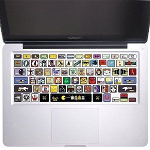 Robot Check Keyboard Stickers Cool Laptop Stickers Keyboard Decal