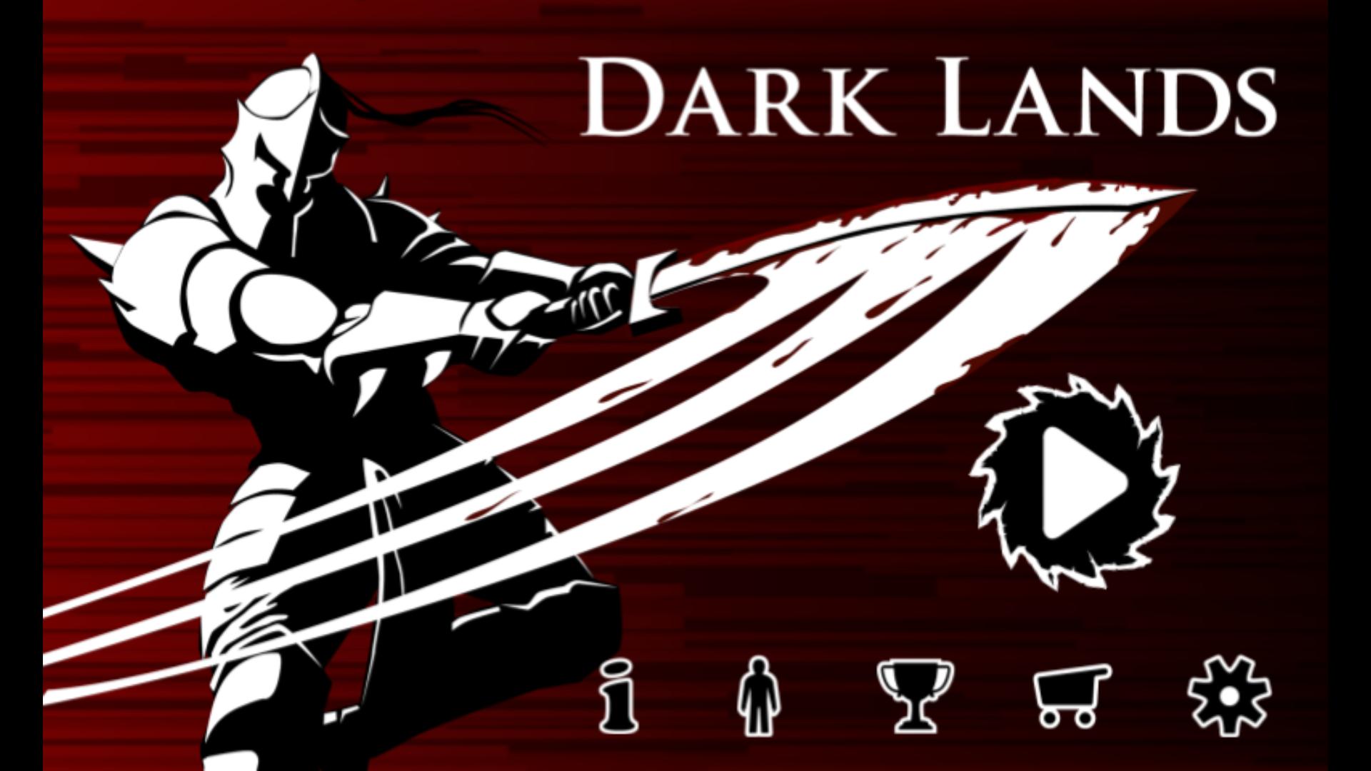 Dark Lands A horizontal 2D platformer that have you jump