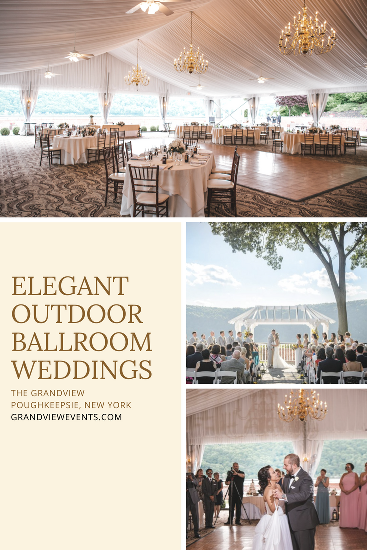 Elegant Outdoor Ballroom Weddings Receptions Located In
