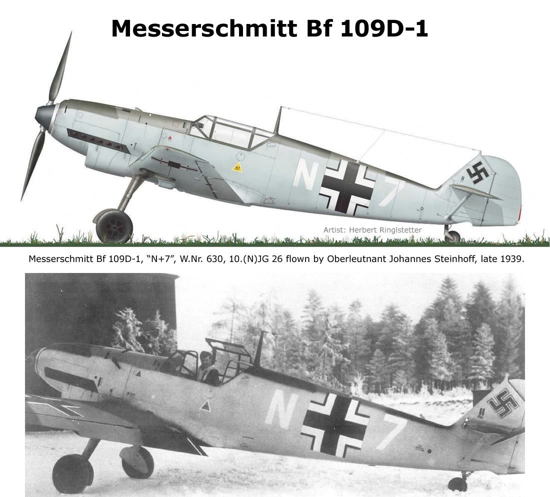 Bf 109D-1