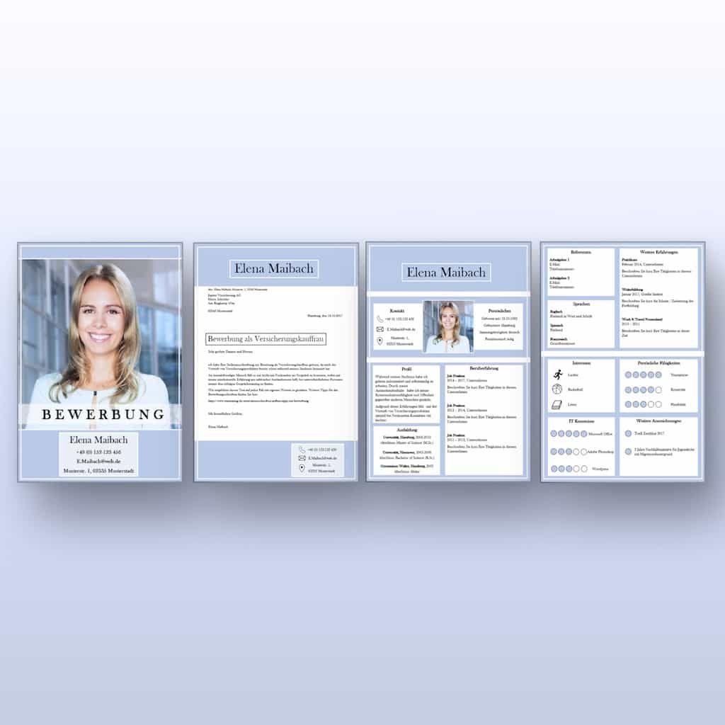 Moderne Lebensläufe Vorlage Perfect Candidate V2 Als Download