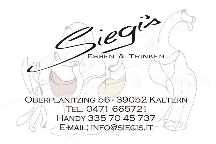 Siegis Essen und Trinken - #Kaltern Oberplanitzing