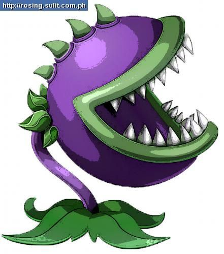 Gallery For Plants Vs Zombies Coloring Pages Chomper