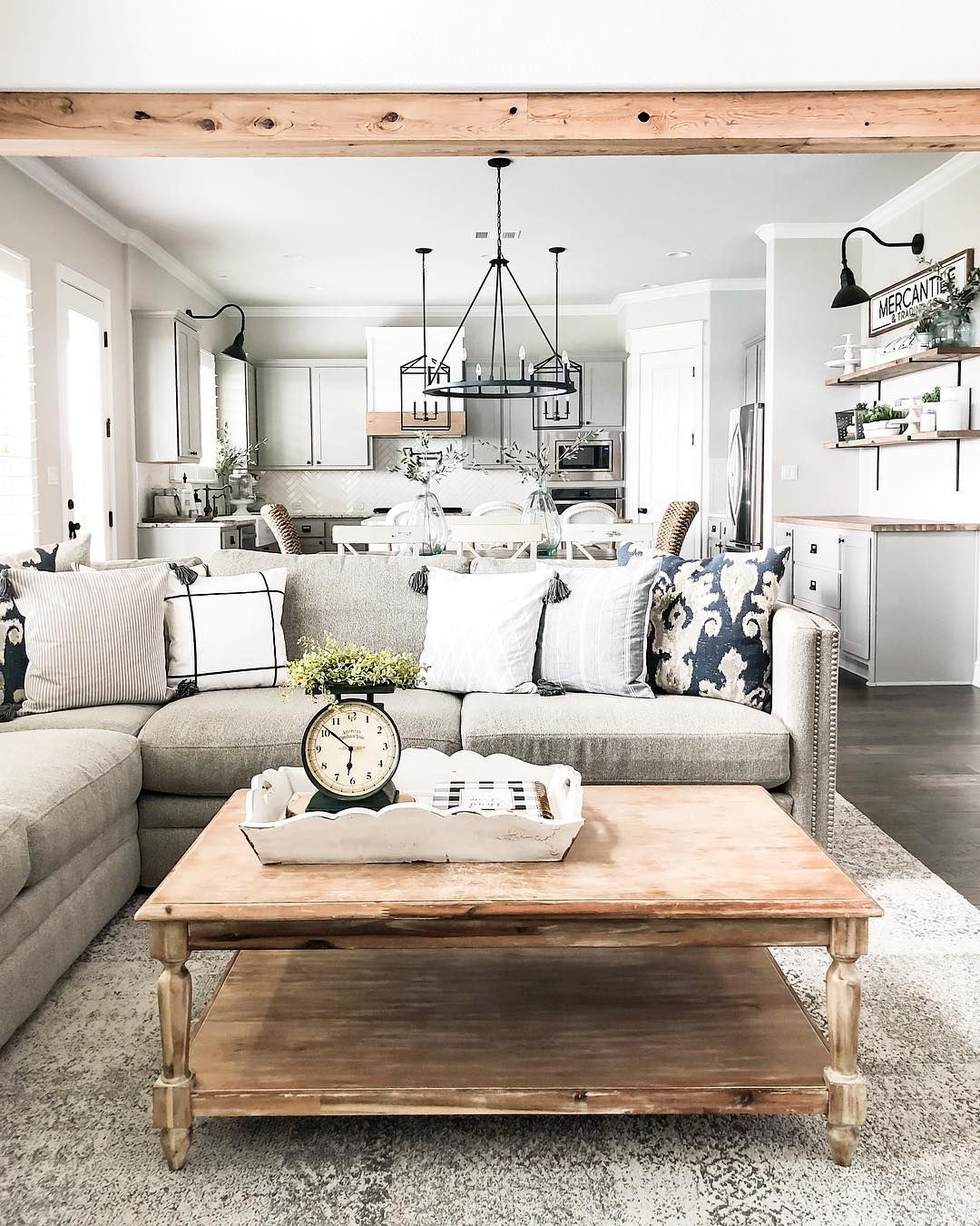 Manufactured Home Decorating Ideas Modern Country And Industrial: Modern Farmhouse Living Room, Farm House Living