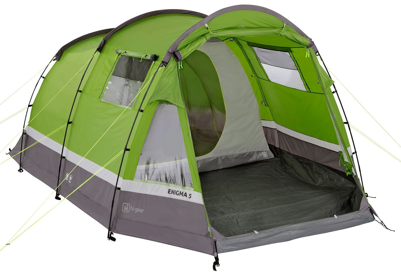 Hi Gear Enigma 5 Family Tent   GO Outdoors