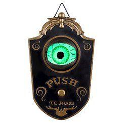 Halloween Haunted Eyeball Doorbell