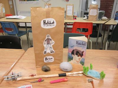 Runde's Room   Bags, The characters and Book bags