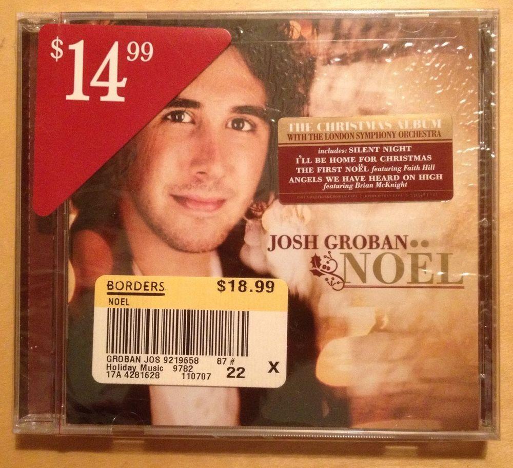 JOSH GROBAN NOEL SEALED CD NEW CHRISTMAS #Christmas | needful things ...