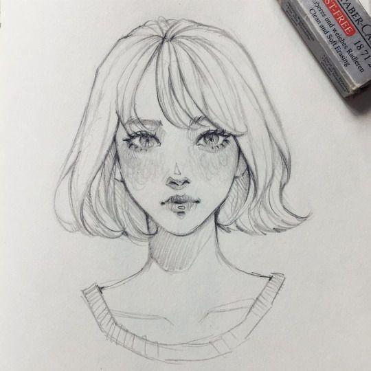 Comment dessiner un visage facile