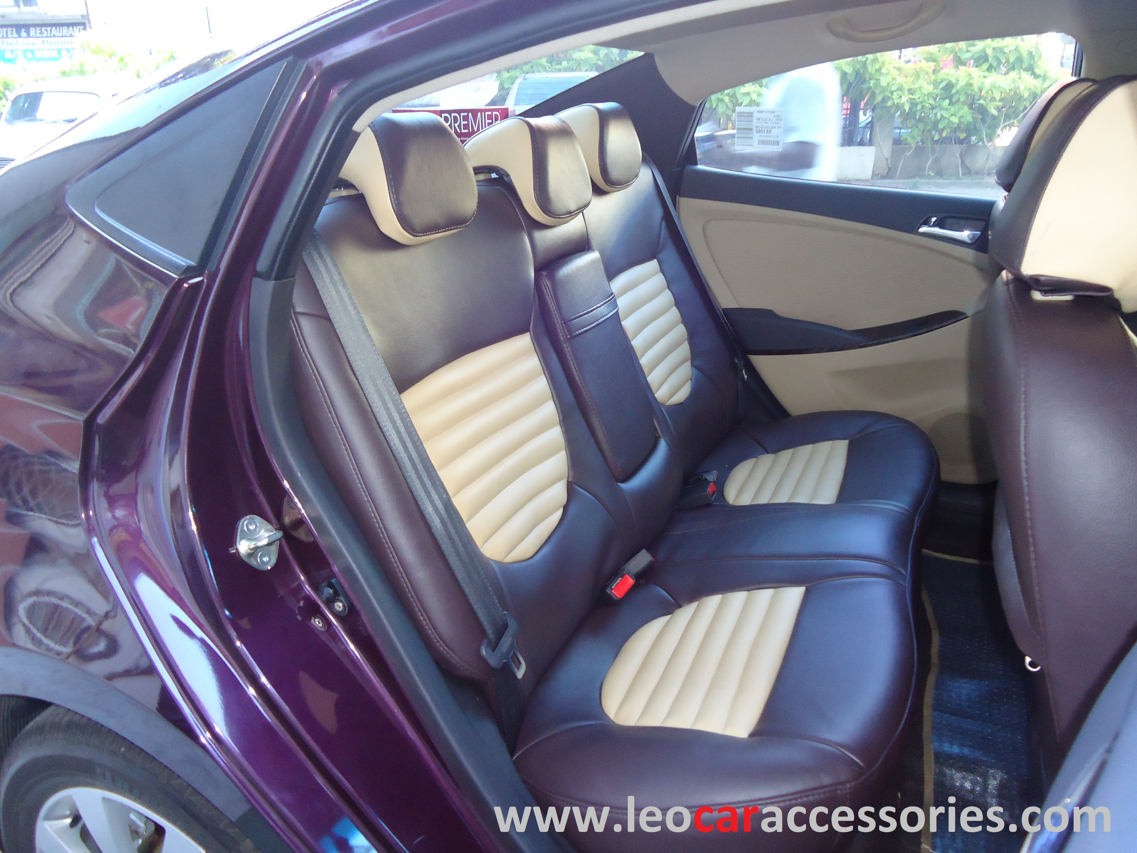 Hyundai Creta Custom Fit Car Seat Cover From FEATHER At LEO Accessories