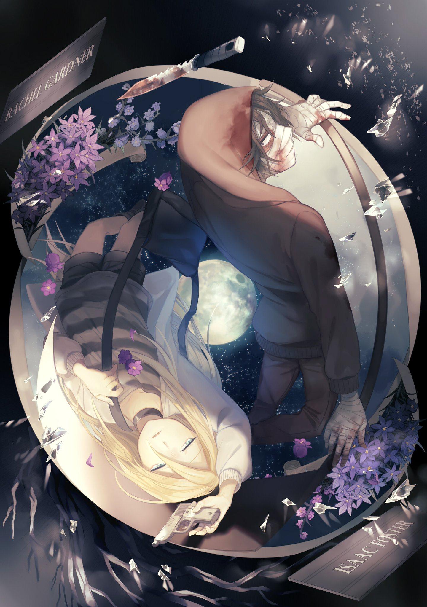 Pin De Nicolle Zule En Angel Of Dead Wallpapers De Animes