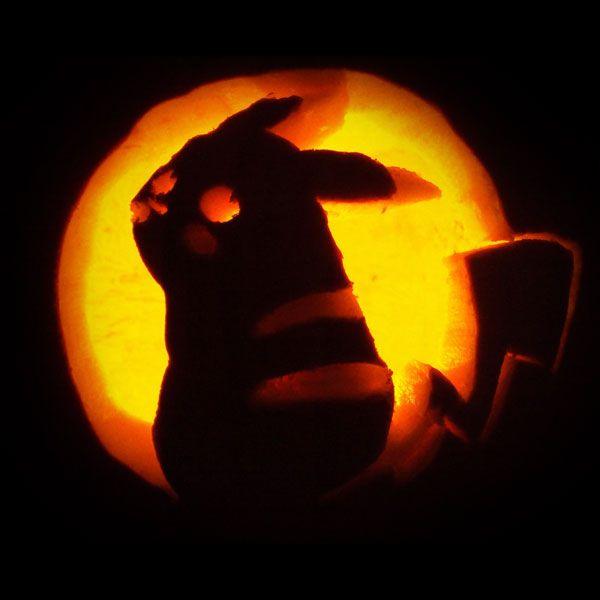 Pokemon-Pikachu-Pumpkin-Carving | Kids | Pinterest