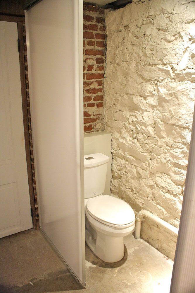 Small Half Bath Basement Small Basement Bathroom