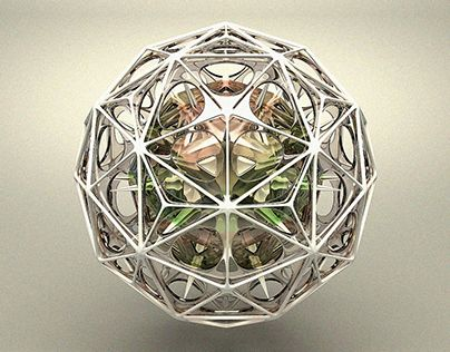 """Check out new work on my @Behance portfolio: """"POLYHEDRONS"""" http://on.be.net/1RHUDmp"""