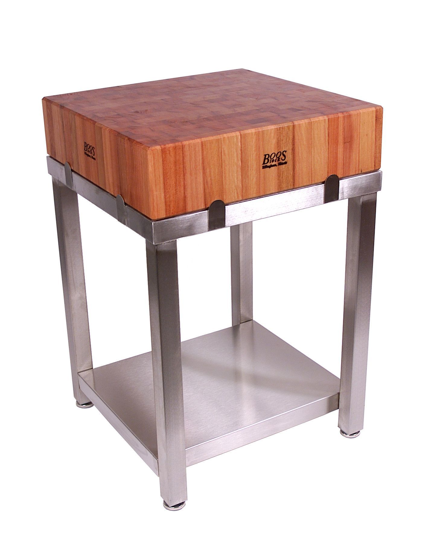 Features: -Kitchen island top only. -Hard cherry end grain cutting ...