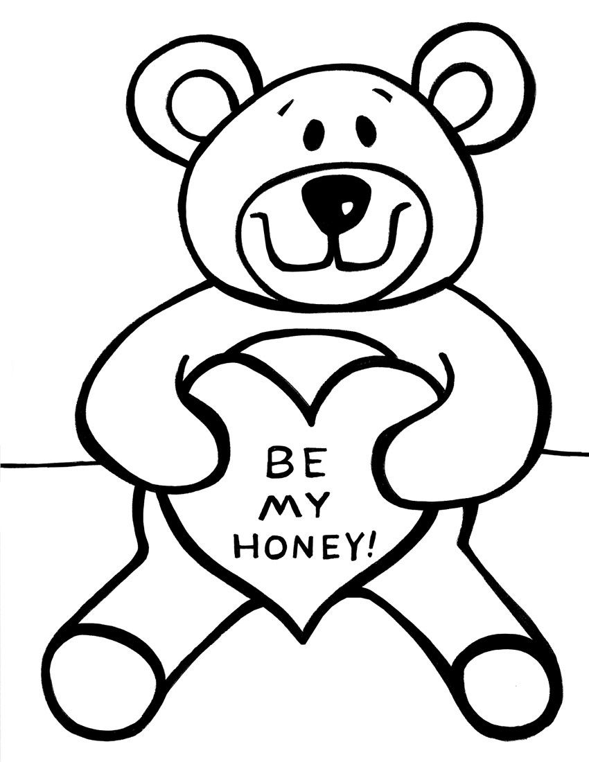 Bear Coloring Pages Teddy 2020 Check More At Https Mister