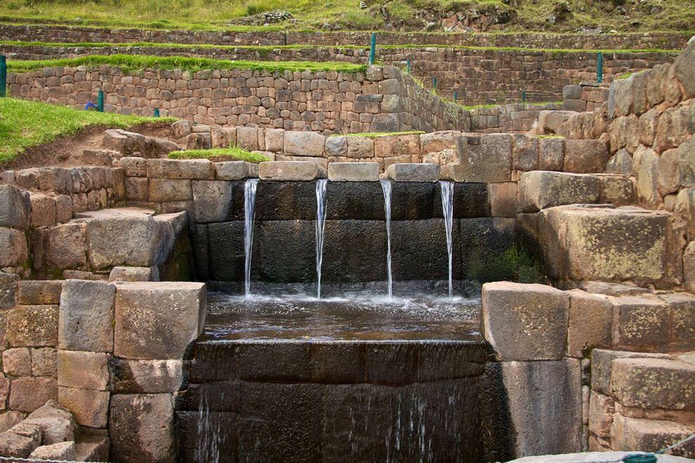 Valle Sagrado de los Incas, tenían fuertes conocimientos en ingeniería hidraúlica.